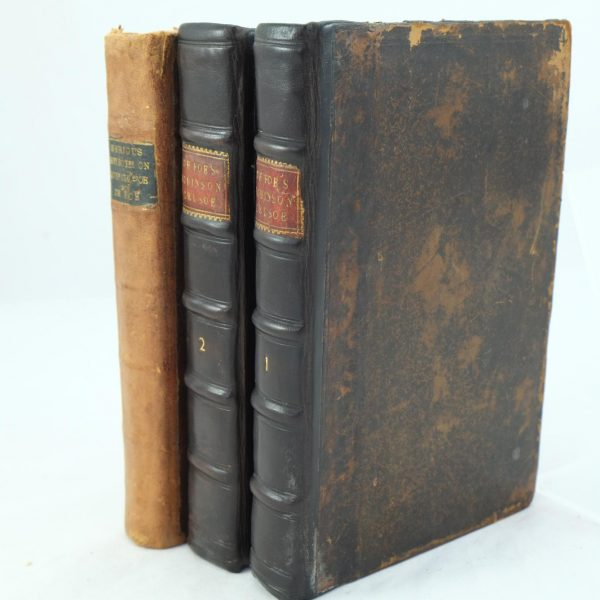 Robinson Crusoe Daniel Defoe early editions (2)