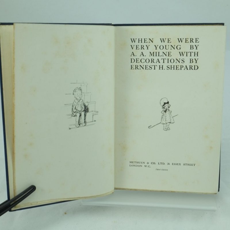 When We Were Young: When We Were Very Young By A. A. Milne: 3rd Edition