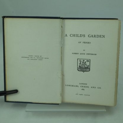 A Childs Garden of Verse by R. L. Stevenson