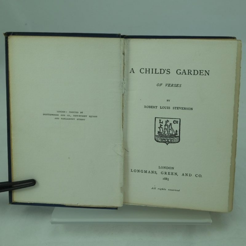a childs garden of verse by r l stevenson - A Childs Garden Of Verses