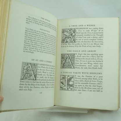 Aesop's Fables by S. Gooden. Trans by R L'Estrange Signed limited ed
