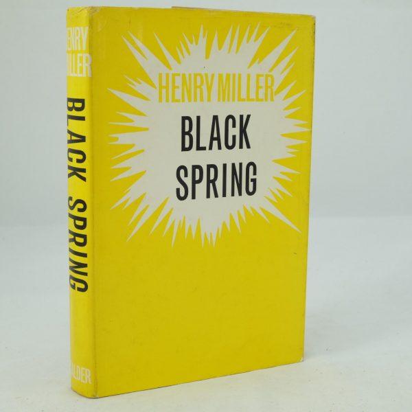 Black Spring by Henry Miller (1)