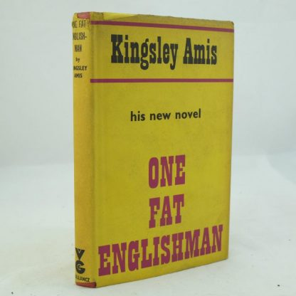 One Fat Englishman Signed by Kinglesy Amis PM (1)