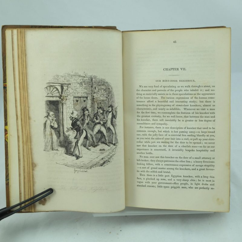 analysis of charles dickens sketches The bibliography of charles dickens  dickens's novels were serialized initially in weekly or monthly magazines,  sketches of young gentlemen.