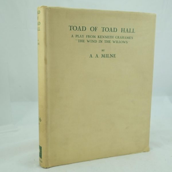 The Toad of Toad Hall by A. A. Milne Signed & Limited edition (2)