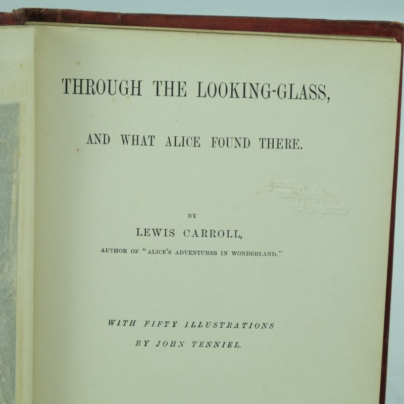 through the looking glass and what alice found there essays Alice's adventures in wonderland  the wasp in a wig a suppressed episode of through the looking-glass and what alice found there  essays.