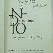 New Directions 10 signed by Evelyn Waugh