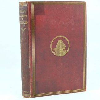 1st Edition of Alice's Adventures in Wonderland by Lewis Carroll