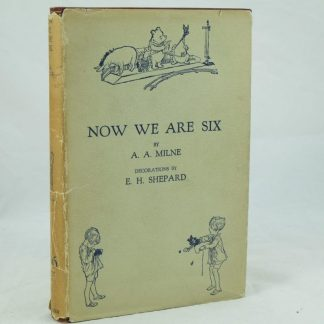 A. A. Milne Now We Are Six with ephemera