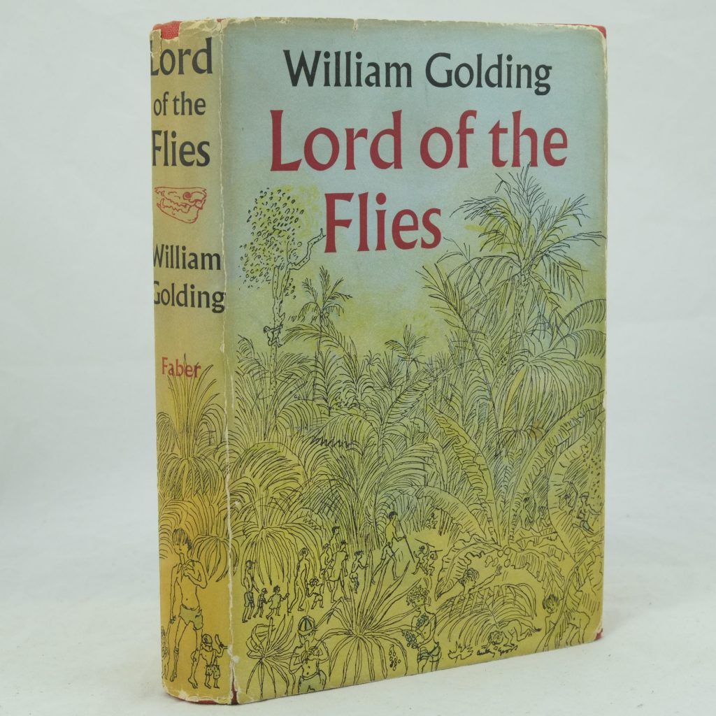 an analysis of the irony in lord of the flies a novel by william golding Literary criticism: recommended essays on william golding's first novel, lord of the flies (1954.