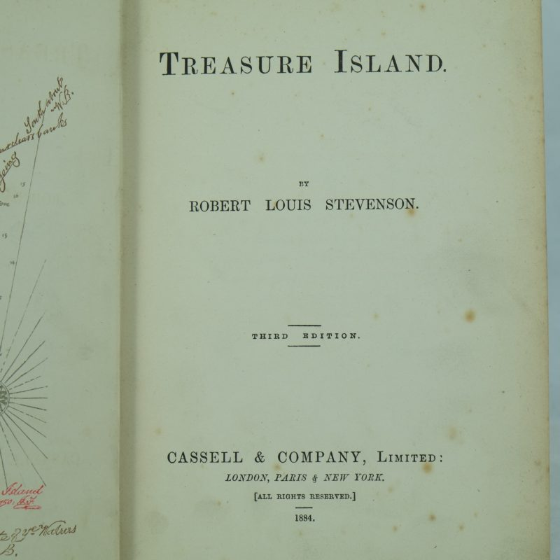 a literary analysis of the treasure island by robert louis stevenson The whole idea for treasure island started with robert louis stevenson and his girlfriend's son designing an imaginary island together, so it should be no surprise that a map of treasure island pla.