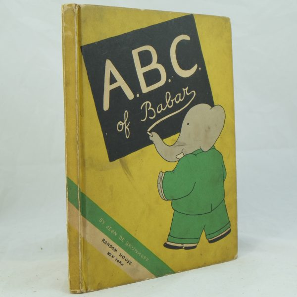 USA edition of A B C of Babar by Jean De Brunhoff
