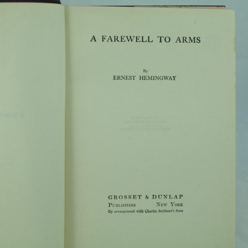 the search for happiness in a farewell to arms a novel by ernest hemingway —ernest hemingway in a farewell to arms the theme of women and death is evident in stories as early as  indian camp  the theme of death permeates hemingway's work.