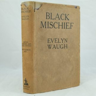 Black Mischief signed by Evelyn Waugh