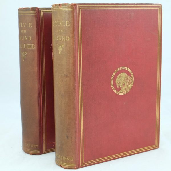 Sylvie and Bruno Pair signed by Lewis Carroll