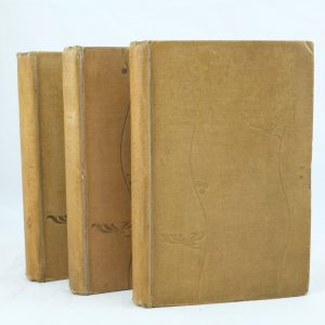 Tess of D'Urbervilles by Thomas Hardy 3 vols