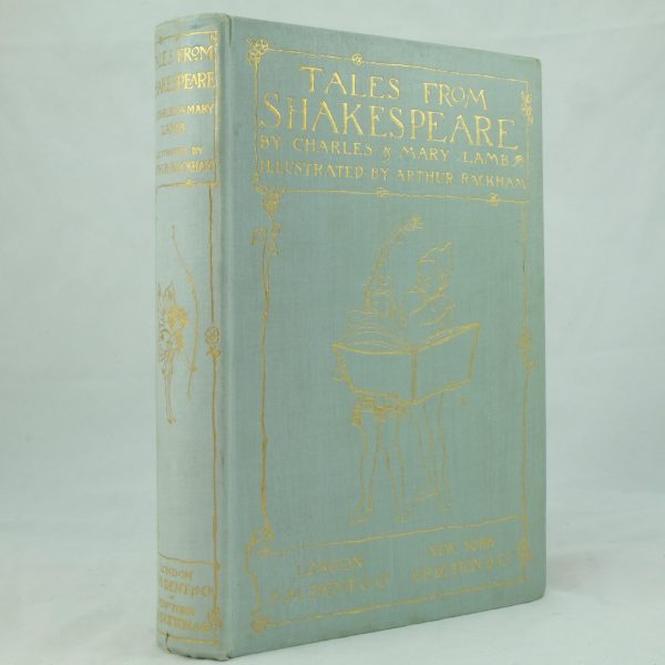 Arthur Rackham Tales from Shakespeare by Charles and Mary Lamb (1)