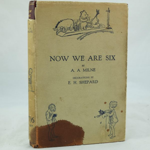 Now We Are Six by A. A. Milne stain (2)