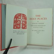 The Holy Places by Evelyn Waugh