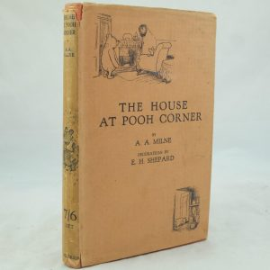 The House at Pooh Corner by A. A. Milne 1st with DJ