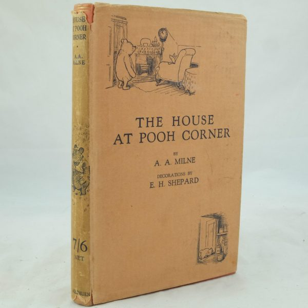 The House at Pooh Corner by A. A. Milne 1st with DJ (3)