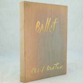 Ballet signed by Cecil Beaton