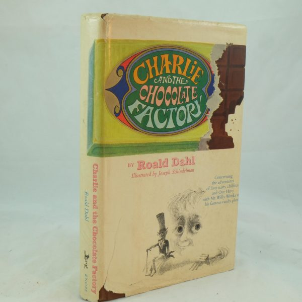 Charlie and the Chocolate Factory by Roald Dahl US edition (1)
