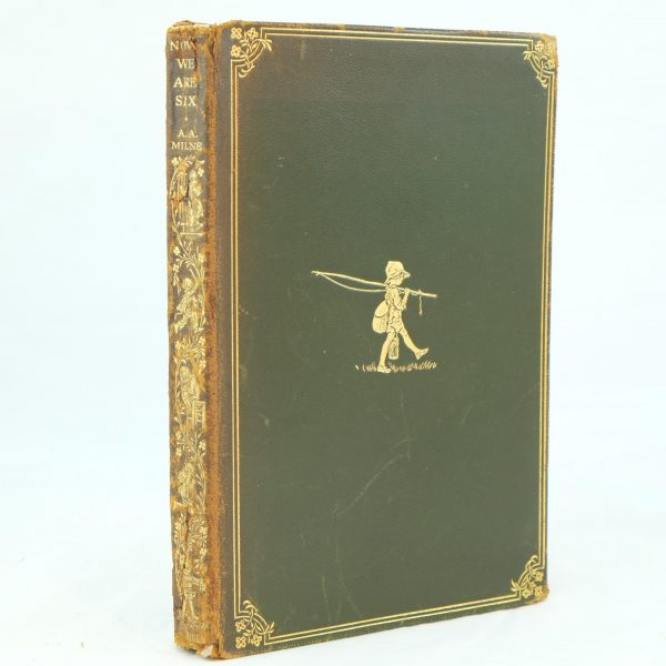 Now We Are Six deluxe 1927 by A. A. Milne (1)