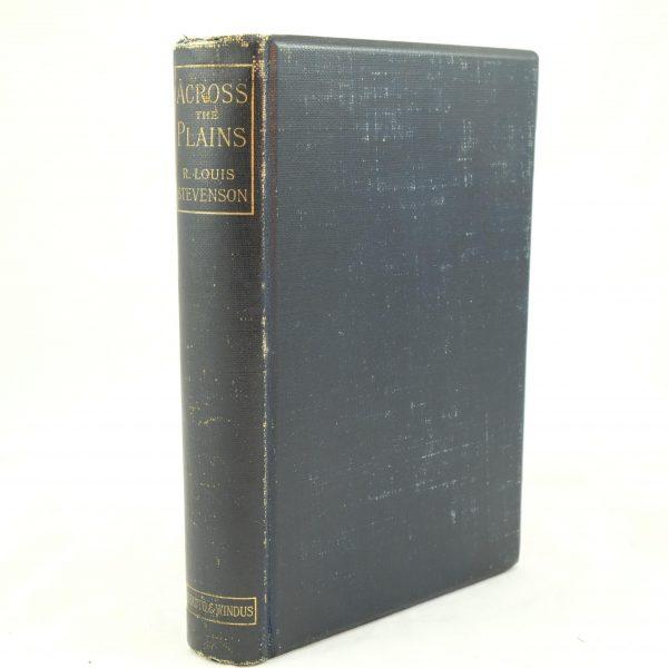 Robert Louis Stevenson Across the Plains (3)