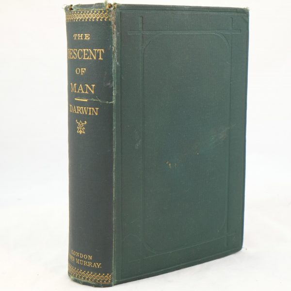 The Descent of Man by Charles Darwin 2nd ed (8)