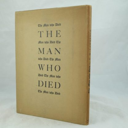 The Man Who Died by D. H. Lawrence illus John Farleigh