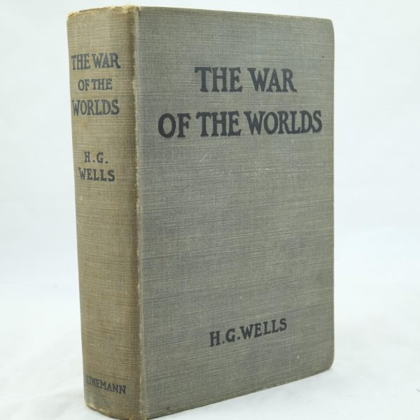 The War of the Worlds by H G Wells 1st impression (1)