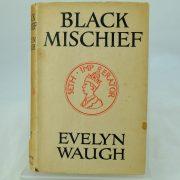 Black Mischief by Eveyln Waugh with DJ