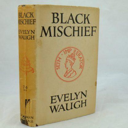 Black Mischief by Eveyln Waugh with DJ (2)