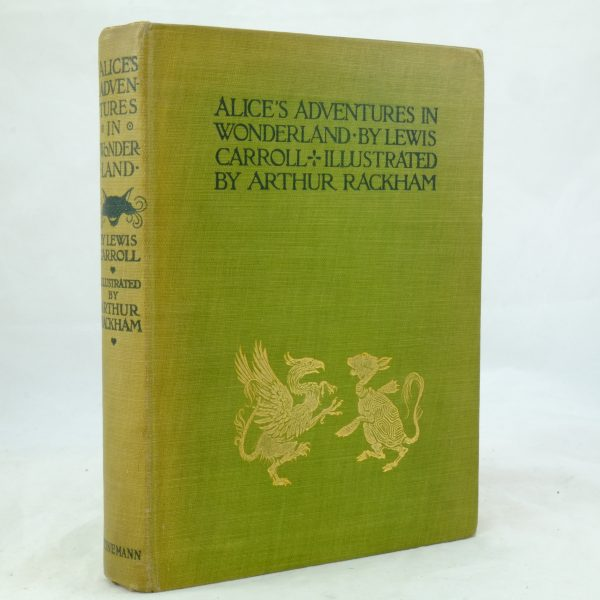 Alice's Adventures Arthur Rackham Illustrated AliceDSCF0501