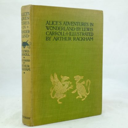 Alice's Adventures Arthur Rackham Illustrated AliceDSCF0501