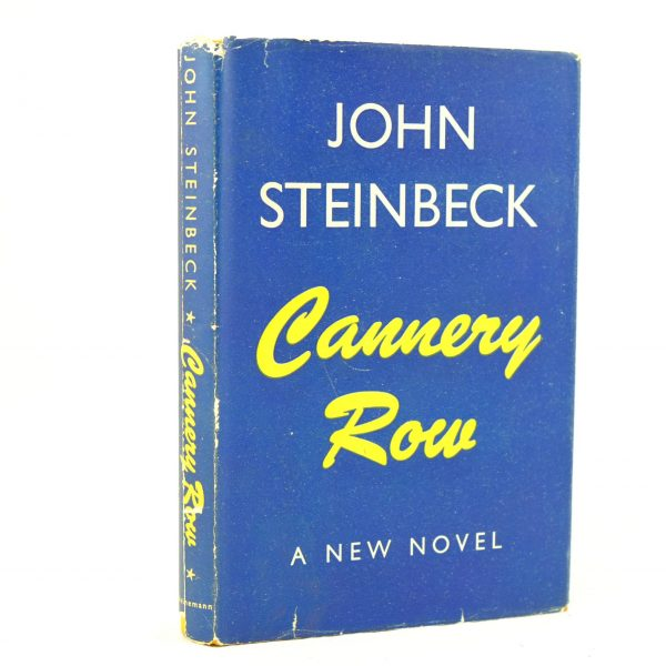 cannery row by john steinbeck Extremely odd, aloof adaptation of john steinbeck's book (with a helping of his sweet thursday) about amateur marine biologist who has a rocky courtship with a.