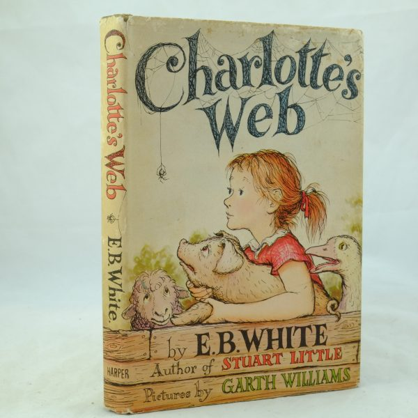 Charlotte's Web 1st US Edition Signed DSCF0538
