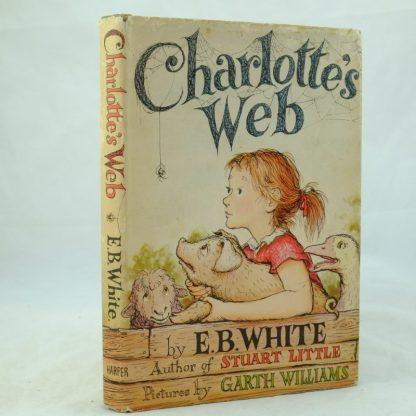 Charlotte's Web 1st US Edition Signed DSCF0538