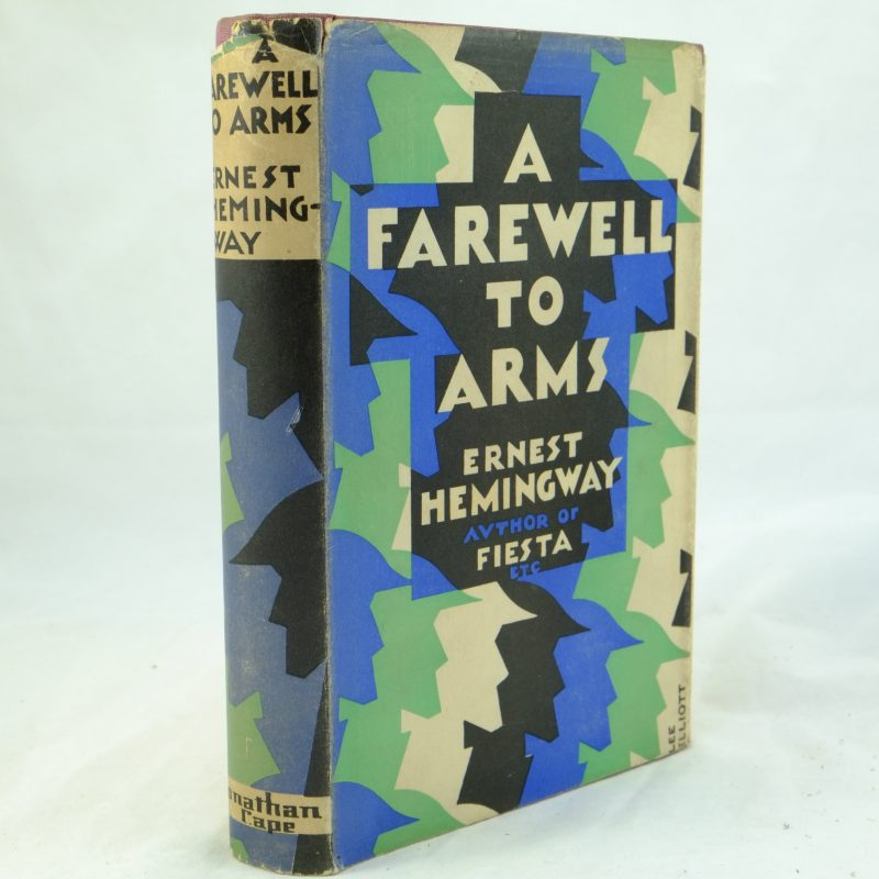 a review of a farewell to arms by ernest hemingway Quotes from a farewell to arms, a novel by ernest hemingway the popularity  of this work contributed to hemingway's status as a literary.