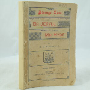 Dr Jekyll and Mr Hyde R L Stevenson