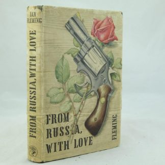 From Russia with Love Ian Fleming First edition (2)