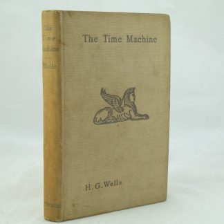 The Time Machine by H G Wells 1895 1st Edition