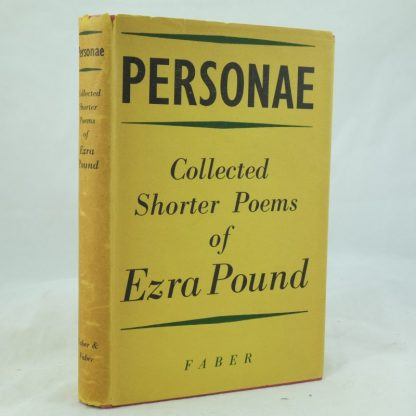 Personae Collected Shorter Poems of Ezra Pound