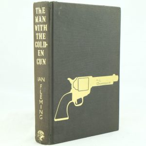 The Man with the Golden Gun with DJ Ian Fleming first edition