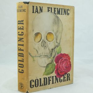 Goldfinger with dust jacket Ian Fleming
