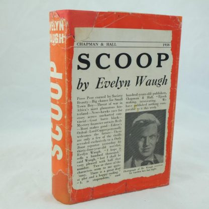 First edition Scoop by Evelyn Waugh 1938 (2)