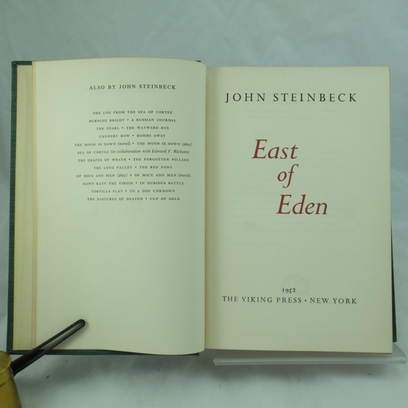 a review of john steinbecks english east of eden Tags: john, steinbeck, east, eden rating: 0 could be also interesting for you: ebook tim o'brien's the things they carried pdf ebook john irving's the world according to garp pdf.
