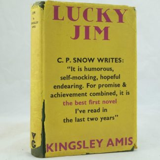 Lucky Jim by Kingsley Amis 1st edition
