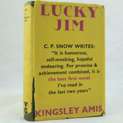 Lucky Jim by Kingsley Amis 1st edition (2)